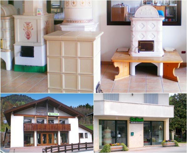Stufe stufa a legna stufe maiolica ceramica riscaldamento vendita stube tirolesi - img11
