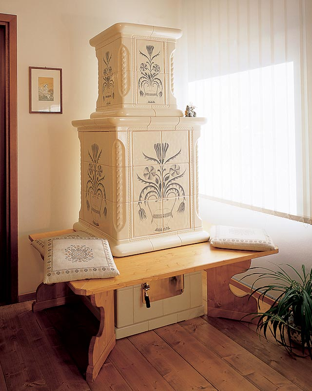 Stufe stufa a legna stufe maiolica ceramica riscaldamento vendita stube tirolesi - gallery maiolica 12