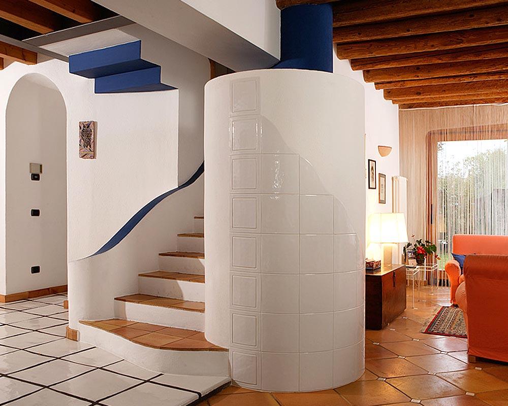 Stufe stufa a legna stufe maiolica ceramica riscaldamento vendita stube tirolesi - gallery su misura 03