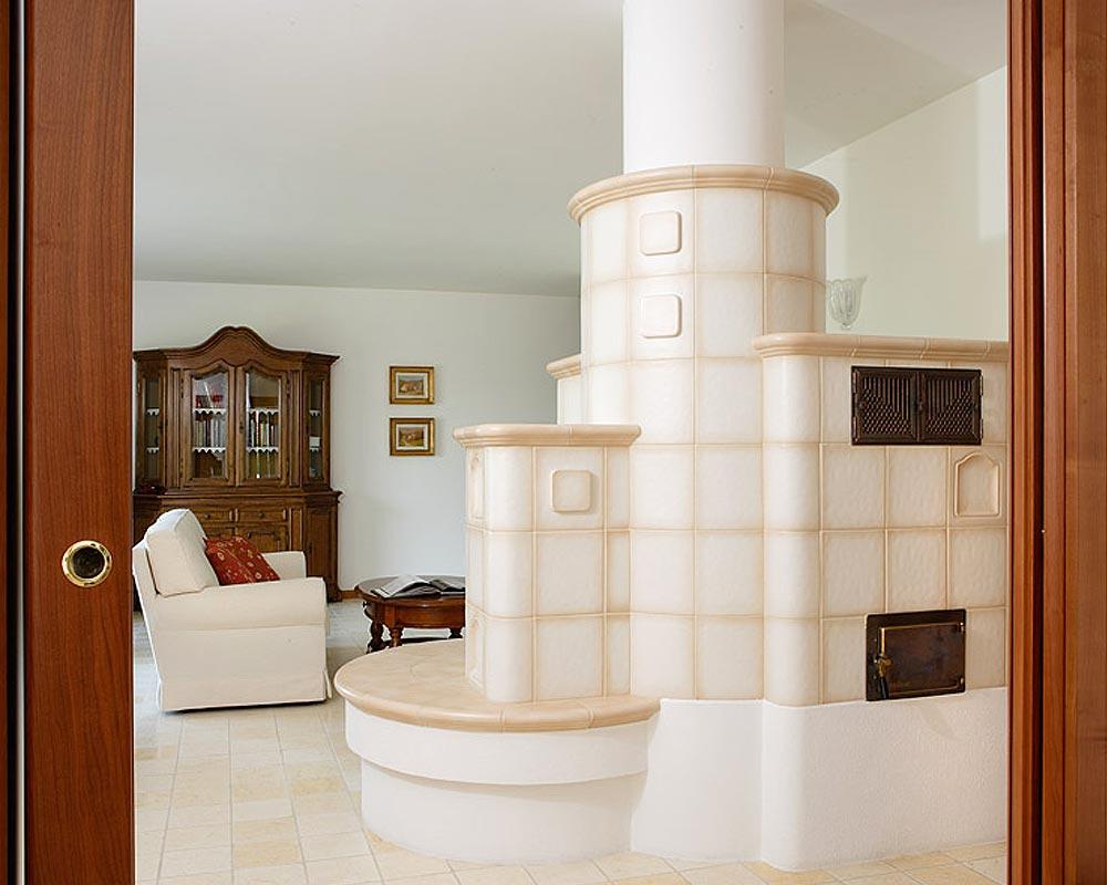 Stufe stufa a legna stufe maiolica ceramica riscaldamento vendita stube tirolesi - gallery su misura 05