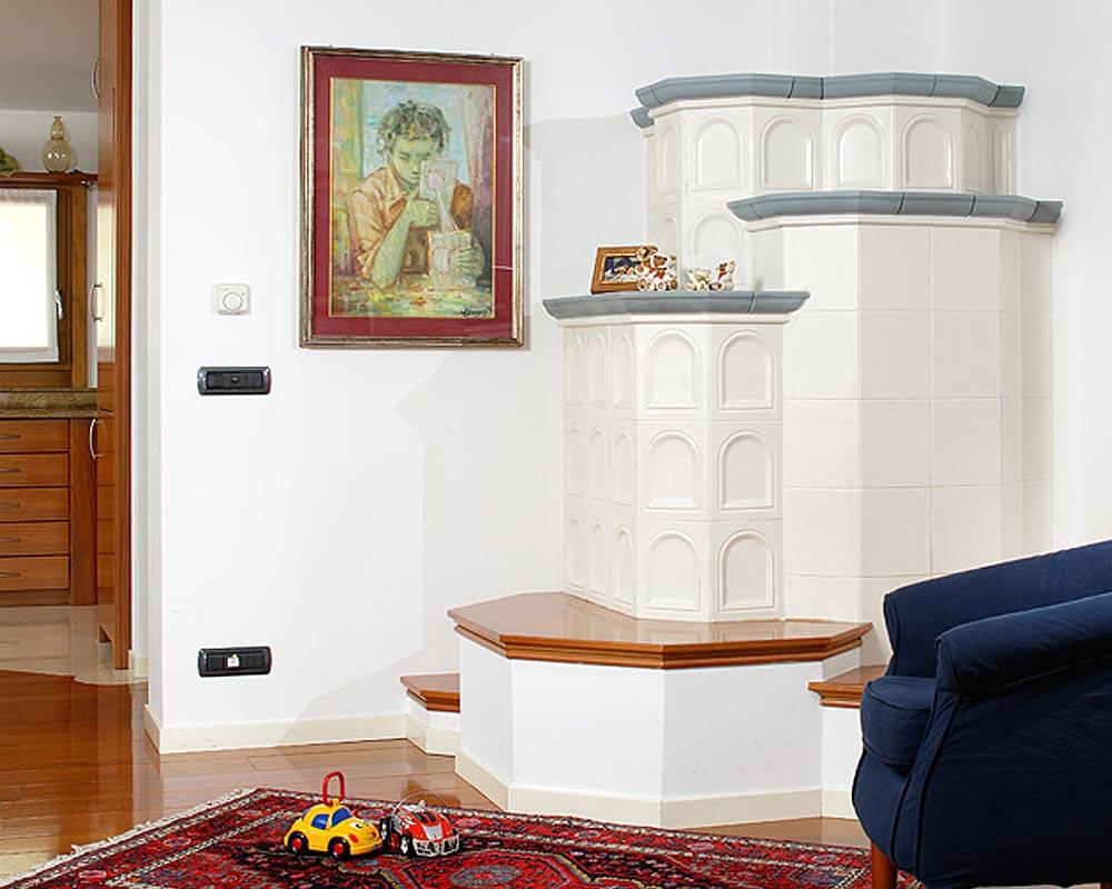 Stufe stufa a legna stufe maiolica ceramica riscaldamento vendita stube tirolesi - gallery su misura 07