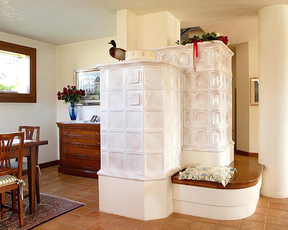 Stufe stufa a legna stufe maiolica ceramica riscaldamento vendita stube tirolesi - gallery su misura 09