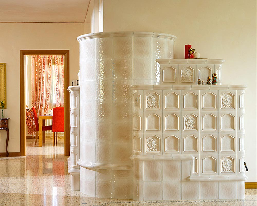 Stufe stufa a legna stufe maiolica ceramica riscaldamento vendita stube tirolesi - gallery su misura 10