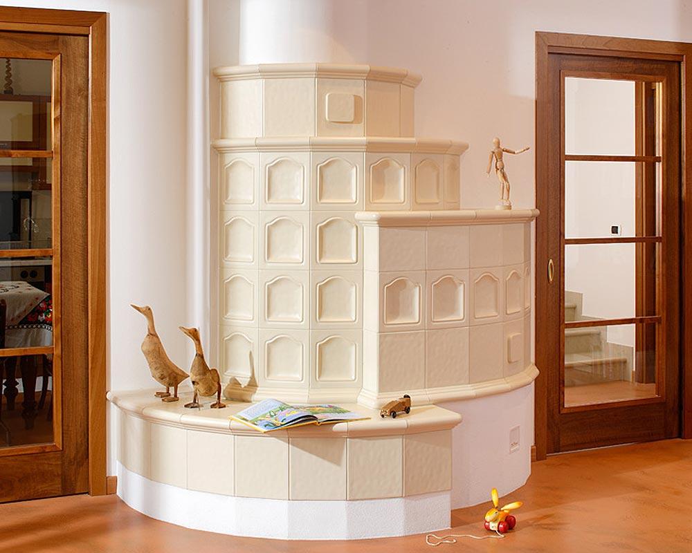 Stufe stufa a legna stufe maiolica ceramica riscaldamento vendita stube tirolesi - gallery su misura 11