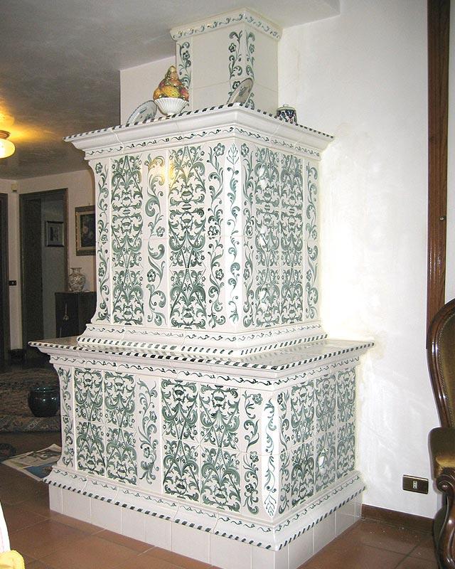 Stufe stufa a legna stufe maiolica ceramica riscaldamento vendita stube tirolesi - gallery su misura 13