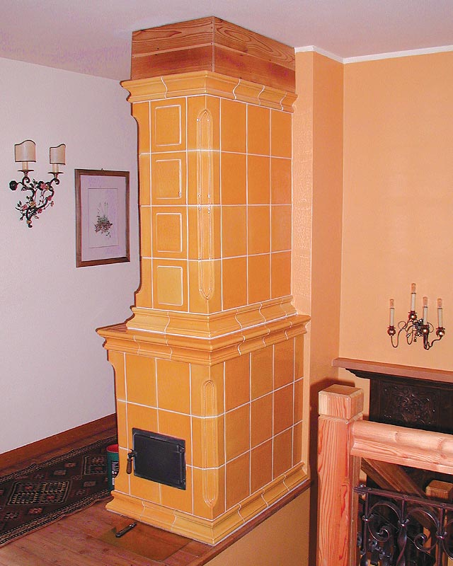 Stufe stufa a legna stufe maiolica ceramica riscaldamento vendita stube tirolesi - gallery su misura 15