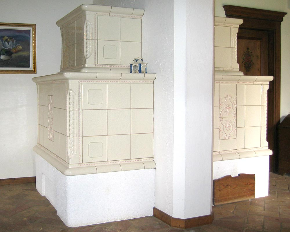 Stufe stufa a legna stufe maiolica ceramica riscaldamento vendita stube tirolesi - gallery su misura 17