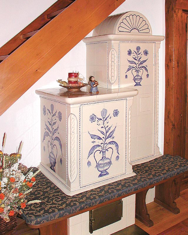 Stufe stufa a legna stufe maiolica ceramica riscaldamento vendita stube tirolesi - gallery su misura 18