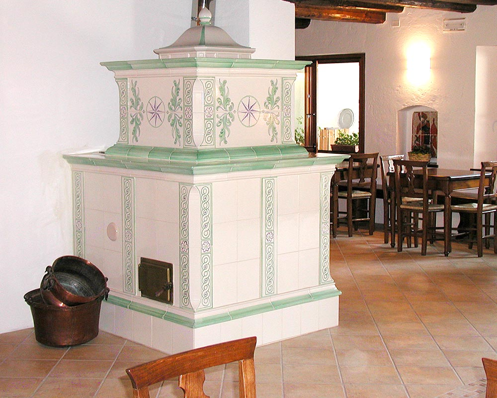 Stufe stufa a legna stufe maiolica ceramica riscaldamento vendita stube tirolesi - gallery su misura 19