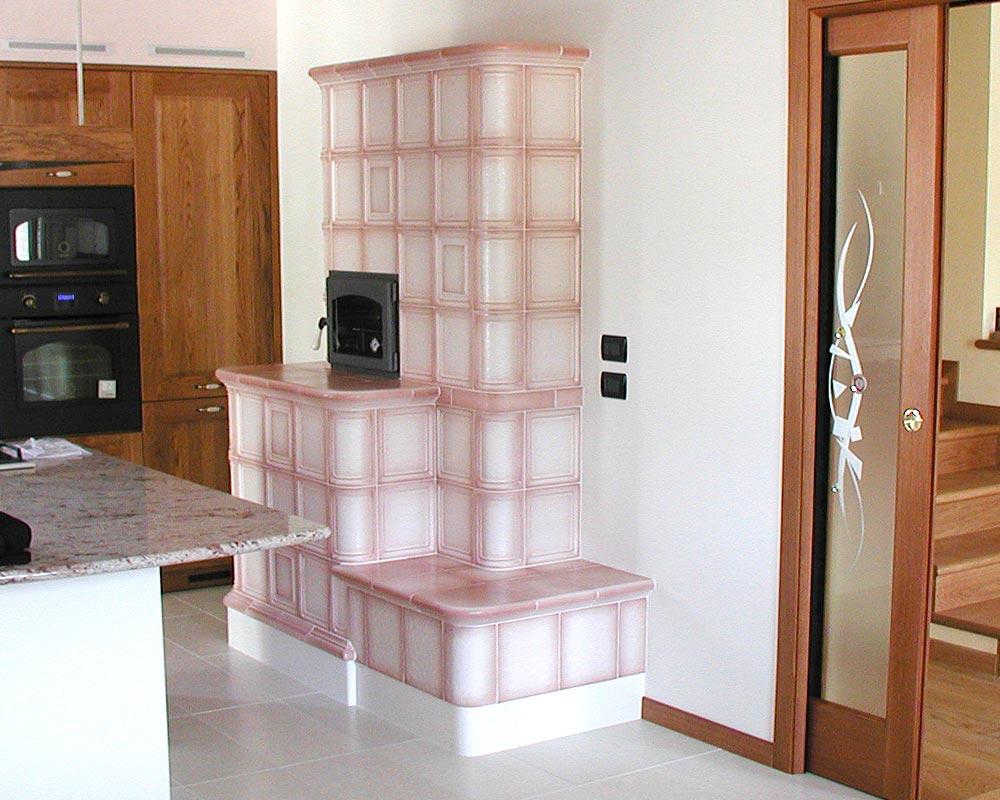 Stufe stufa a legna stufe maiolica ceramica riscaldamento vendita stube tirolesi - gallery su misura 20