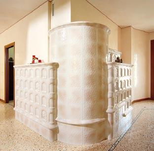 Stufe stufa a legna stufe maiolica ceramica riscaldamento vendita stube tirolesi - img03