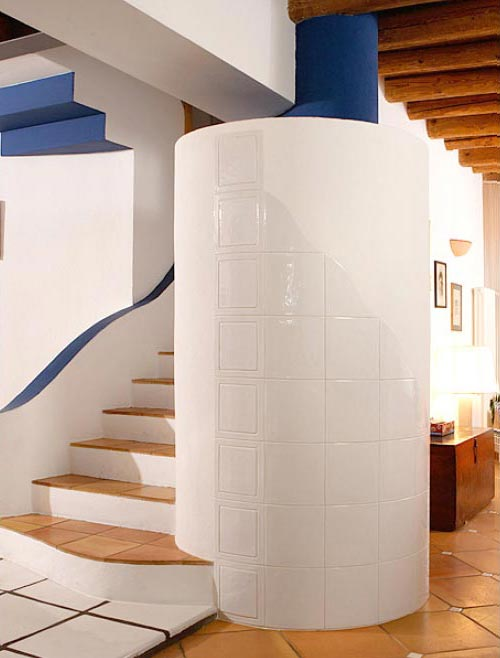 Stufe stufa a legna stufe maiolica ceramica riscaldamento vendita stube tirolesi - gallery home 04