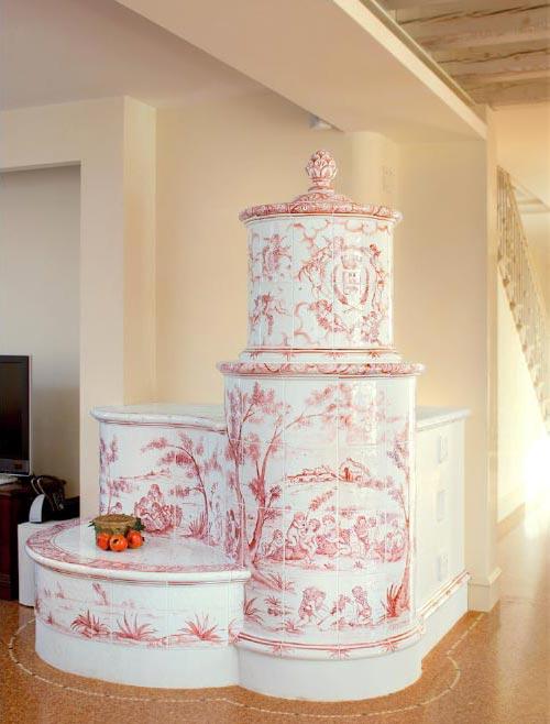 Stufe stufa a legna stufe maiolica ceramica riscaldamento vendita stube tirolesi - gallery home 07